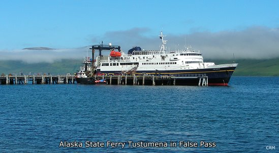 Alaska State Ferry Tustumena at False Pass