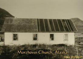 Morzhovoi Church, Alaska, exterior