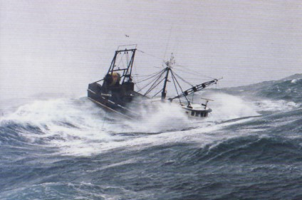 Rough Weather in the Bering Sea