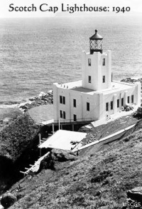 Scotch Cap Lighthouse, 1940