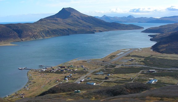 False Pass, Alaska & Isanotski Strait